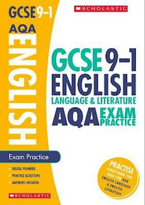 Bog, paperback English Language and Literature Exam Practice Book for AQA af Richard Durant