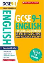 English Language and Literature Revision Guide for All Boards (GCSE Grades 9 1)