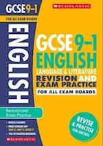 English Language and Literature Revision and Exam Practice Book for All Boards (GCSE Grades 9 1)