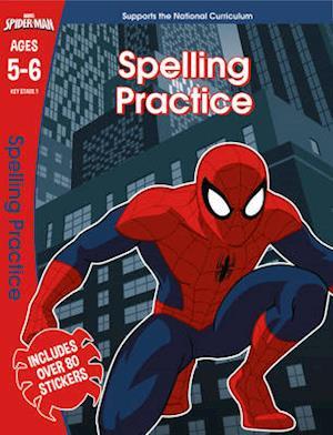 Bog, paperback Spider-Man: Spelling Practice, Ages 5-6 af Scholastic