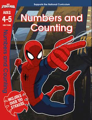 Bog, paperback Spider-Man: Numbers and Counting, Ages 4-5 af Scholastic