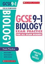 Biology Exam Practice Book for All Boards (GCSE Grades 9 1)