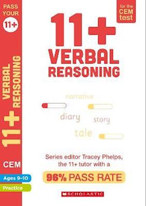 11+ Verbal Reasoning Practice and Assessment for the CEM Test Ages 09-10