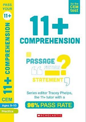 11+ English Comprehension Practice and Assessment for the CEM Test Ages 09-10