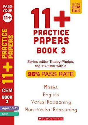 11+ Practice Papers for the CEM Test Ages 10-11 - Book 3