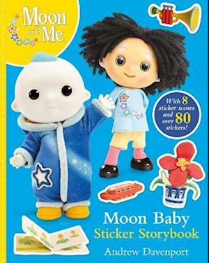 Moon Baby Sticker Storybook