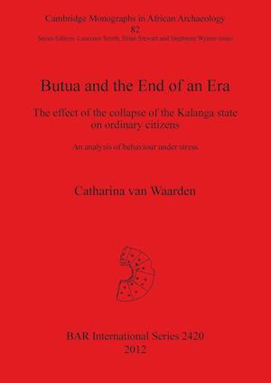 Bog, paperback Butua and the End of an Era af Catharina Van Waarden