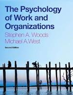 The Psychology of Work and Organizations af Steve Woods