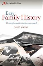 Easy Family History af David Annal