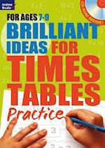 Brilliant Ideas for Times Tables Practice 7-9 af Molly Potter