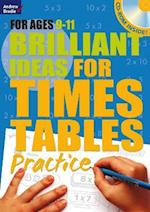 Brilliant Ideas for Times Tables Practice 9-11 af Molly Potter