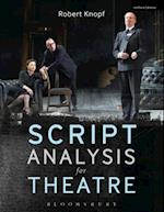 Script Analysis for Theatre