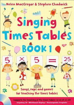 Singing Times Tables Book 1