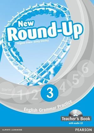 Round Up Level 3 Teacher's Book/Audio CD Pk