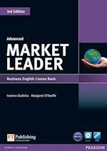 Market Leader 3rd Edition Advanced Coursebook & DVD-Rom Pack af Margaret O Keeffe, Iwona Dubicka, Simon Kent