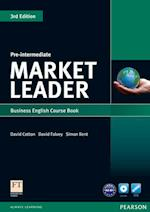 Market Leader Pre-intermediate Coursebook & DVD-rom Pack af David Cotton, Simon Kent, David Falvey
