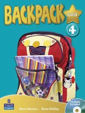 Backpack Gold 4 SBk & CD Rom N/E Pk