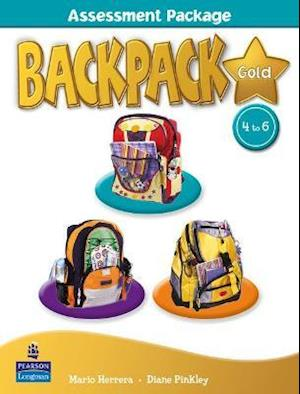 Backpack Gold Assessment Book & M-Rom 4-6 N/E pack