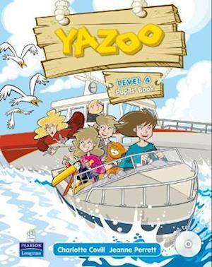 Yazoo Global Level 4 Pupil's Book and CD (3) Pack