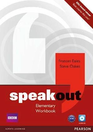 Speakout Elementary Workbook no Key with Audio CD Pack