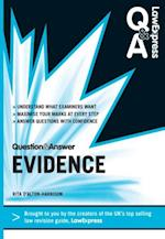 Law Express Question and Answer: Evidence Law (Q&A Revision Guide) (Law Express Questions Answers)