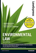 Law Express: Environmental Law (Revision Guide) (Law Express)