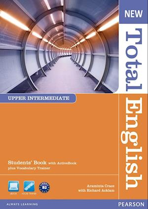 New Total English Upper Intermediate Students' Book with Active Book Pack
