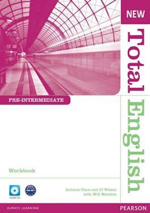 New Total English Pre-Intermediate Workbook without Key and Audio CD Pack