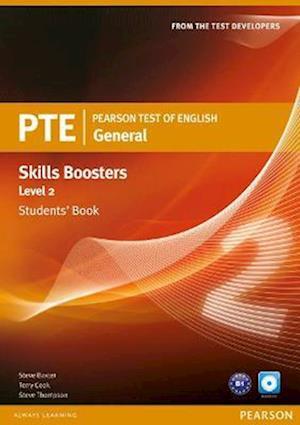 Pearson Test of English General Skills Booster 2 Students' Book and CD Pack