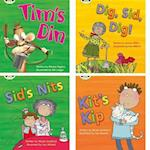 Learn to Read at Home with Phonics Bug: Pack 1 (Pack of 4 fiction books) (Phonics Bug)