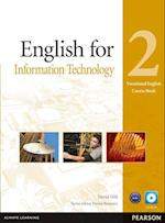 English for IT Level 2 Coursebook and CD-ROM Pack (Vocational English)