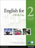English for the Oil Industry Level 2 Coursebook and CD-ROM Pack (Vocational English)
