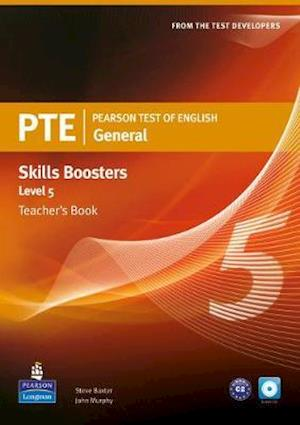 Pearson Test of English General Skills Booster 5 Teacher's Book and CD Pack
