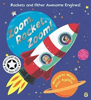 Bog, paperback Awesome Engines: Zoom, Rocket, Zoom! af Margaret Mayo
