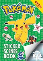 The Official Pokemon Sticker Scenes Book (Pokemon, nr. 14)