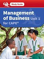 Management of Business CAPE Unit 1 CXC Study Guide af Robert Dransfield