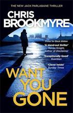 Want You Gone af Christopher Brookmyre