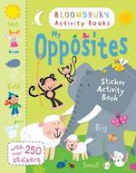 My Opposites Sticker Activity Book (Chameleons)