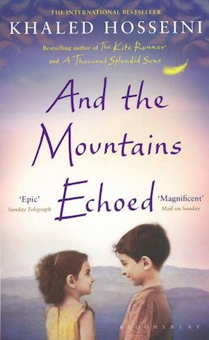 Bog, paperback And the Mountains Echoed af Khaled Hosseini
