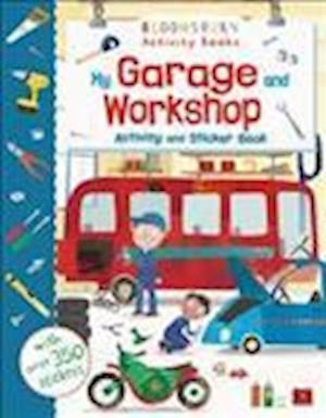 My Garage and Workshop Activity and Sticker Book