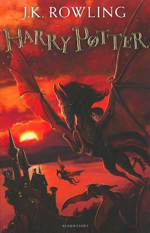 Bog paperback Harry Potter and the Order of the Phoenix af J. K. Rowling