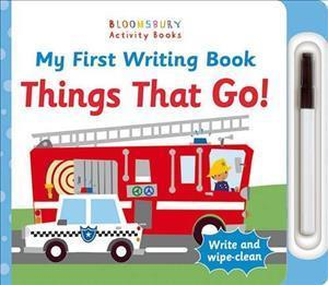 Bog, papbog My First Writing Book Things That Go!