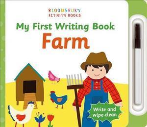 Bog, papbog My First Writing Book Farm