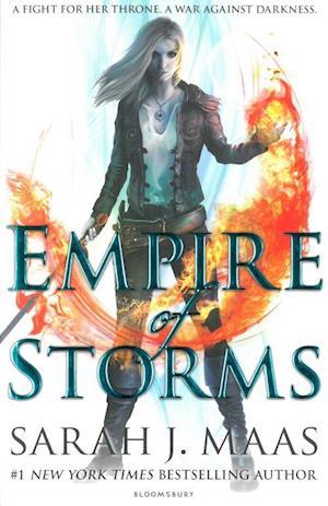 Bog paperback Empire of Storms af Sarah J. Maas