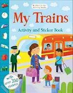 My Trains Activity and Sticker Book (Chameleons)