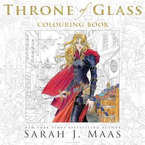 Bog paperback The Throne of Glass Colouring Book af Sarah J. Maas