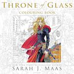The Throne of Glass Colouring Book (Chameleons)