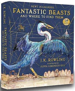 Bog hardback Fantastic Beasts and Where to Find Them af J. K. Rowling