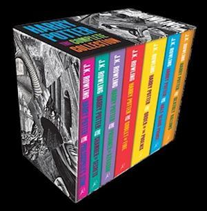 Harry Potter (1-7) - Boxed Set (PB) - Adult edition - B-format