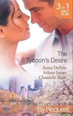 Tycoon's Desire: Under the Tycoon's Protection / Tycoon Meets Texan! / The Greek Tycoon's Virgin Mistress (Mills & Boon By Request) af Anna DePalo